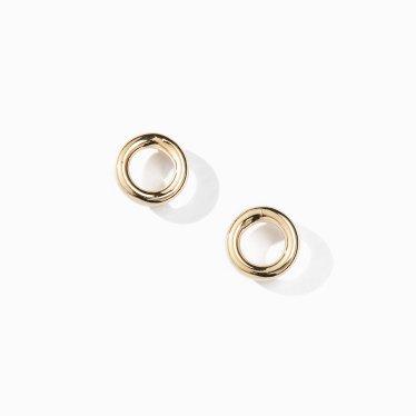 ring pipe earring S