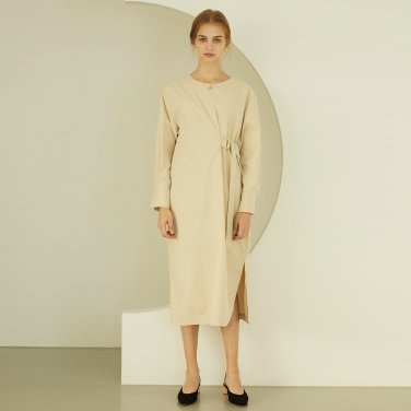P Belted Long Dress_BE