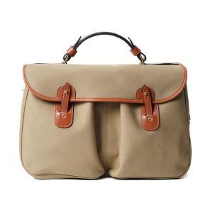 BRADY BAGS MONMOUTH Traditional English Office Bag Khaki