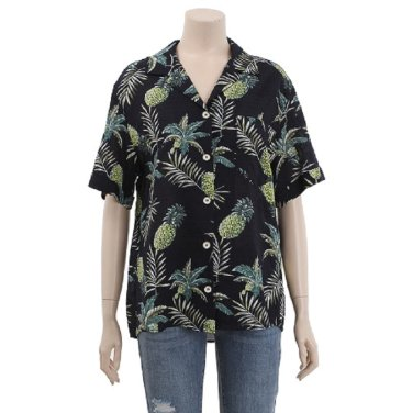 하와이안 패턴 면 셔츠 (BBSC3276)