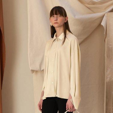 Riga Satin Shirt [Cream] (JC19SSSH04_CR)