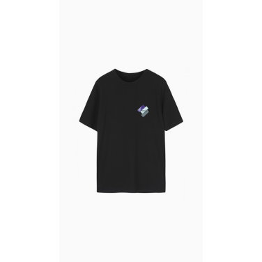 컬러 페인팅 로고 티셔츠  (BATS92941)