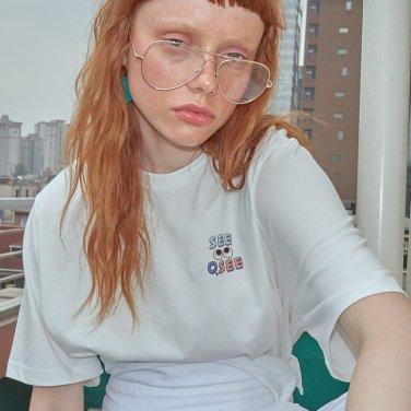 로고플레이 시리즈 티셔츠 SEEOSEE (HTSEEOSEE)