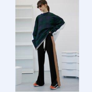 [테이즈]Thick Track Pants (19TAZE39E)
