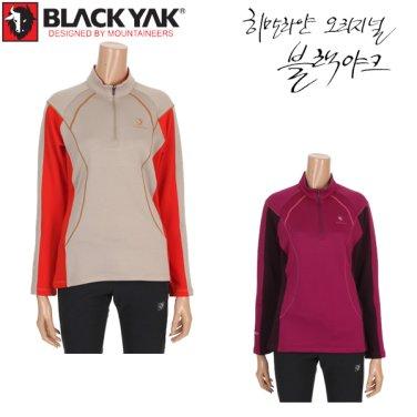15년 가을/겨울 신상품 여성용 등산기능성 폴라텍티셔츠 바이더티셔츠-