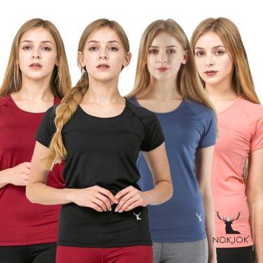 녹족_요가복 필라테스복 슬림라인 반팔 티셔츠 10종
