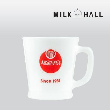 [무료배송]서울우유레트로 자기컵-Since 1981