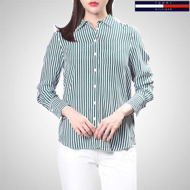TFMT1HCE43A0(비스코스 스트라이프 긴소매 셔츠)
