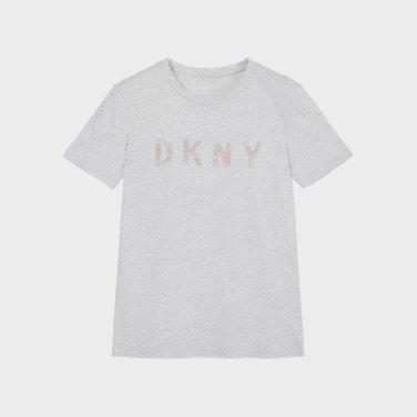 크루넥 글리터 로고 티셔츠(DW1J1TTS133W)