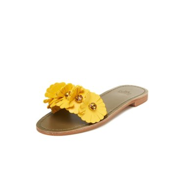 Flower sandal(yellow) DG2AM19063YEW