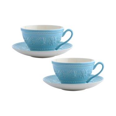 페스티비티 커피잔 2인조 (블루)