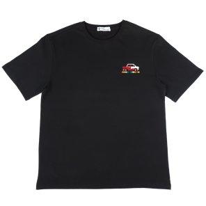 [하이레졸루션] 픽셀 자동차 티셔츠 - BLACK