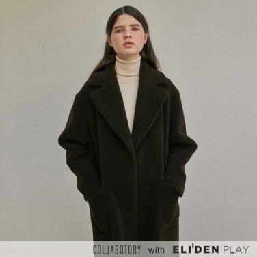 [콜라보토리] 페이크 무스탕 싱글 코트(2color) (BBCMF2001M)