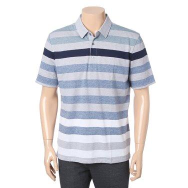 [BASSO] 시원한 블루 카라 티셔츠 BSS2KF63ASU
