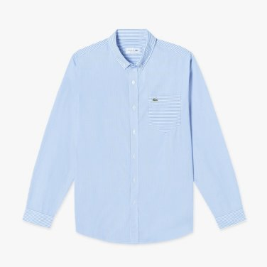 믹스 패턴 포켓 셔츠 (CH2761-19A)