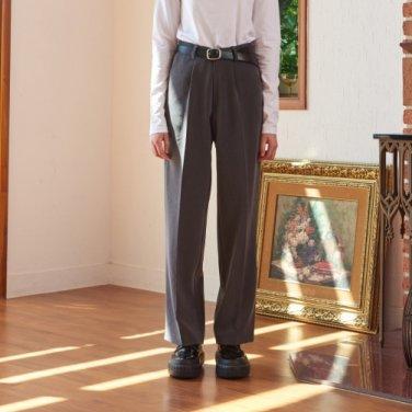 SIDE BANDING SET WIDE PANTS (GRAY)