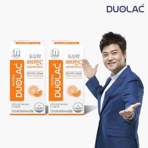 듀오락 비타민C 프로바이오틱스 2통(60일분)