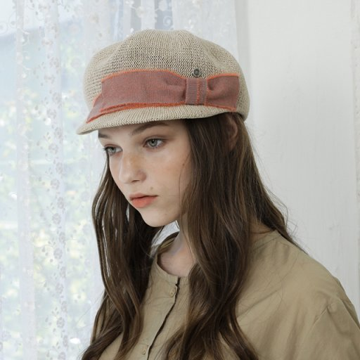 Formed casquette - Beige