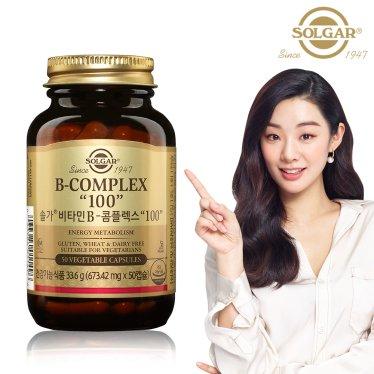 비타민B 콤플렉스 100 (50캡슐/1개월20일)