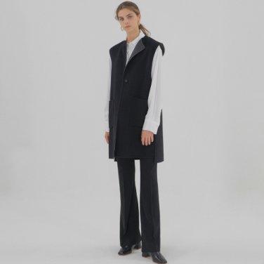 Handmade Revasible Vest - Black