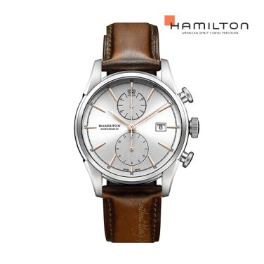 H32416581 스피릿 오브 리버티 골드 인덱스 남성 시계