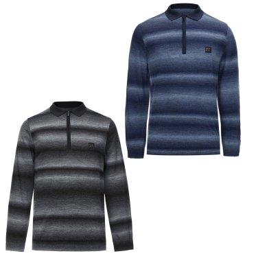 남성 넥카라 스웨터(JWTBW18611BLK,LNV)