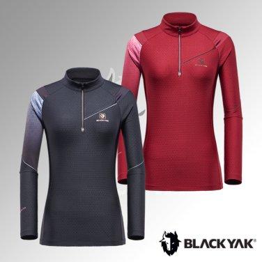블랙야크 여성 간절 반짚업 M레인지티셔츠2