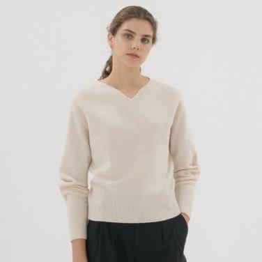 Crop Wave Knit - Cream