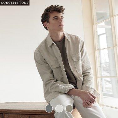 남성 코튼 트윌 셔츠 자켓 (10040103)