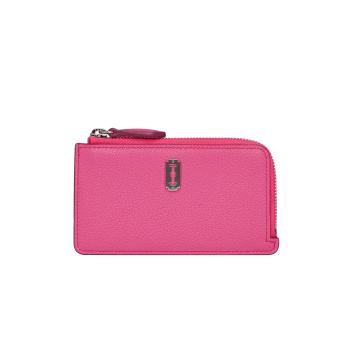 [vunque] Magpie Zipper Card Wallet (맥파이 지퍼 카드지갑) Pink lux_VQB01CW2021