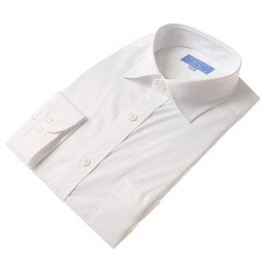 2019봄신상품(일반/긴팔) 화이트 스판 셔츠(CDCS3B7302A0)