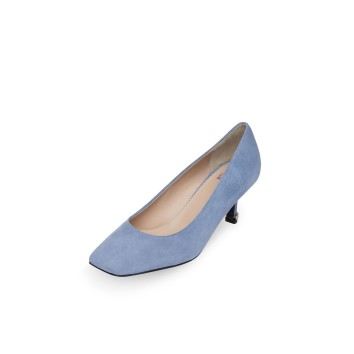 Unbalance square toe pumps(blue)DG1BX20004BLU