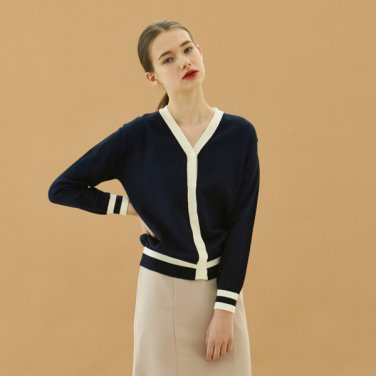 color cardigan_navy