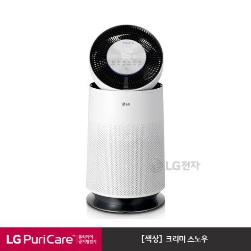 [LG전자]퓨리케어 360도 공기청정기 AS190DWFA (크리미스노우/CA공기청정 인증)