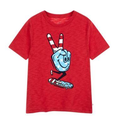 슬럽 그래픽 반팔 티셔츠 5219226204061