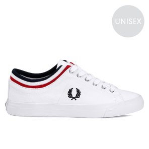 FRED PERRY Underspin Tipped Cuff Twill 남여공용 스니커즈 SFPU1937106-100