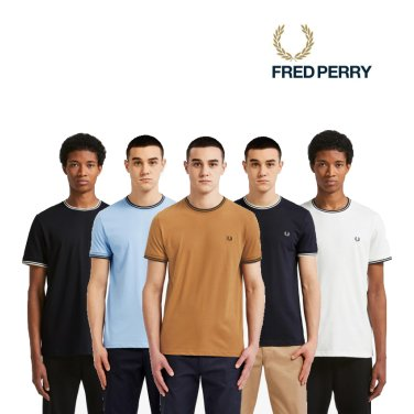 [S/S상품] 트윈 팁 티셔츠 5종 AFPM1911588