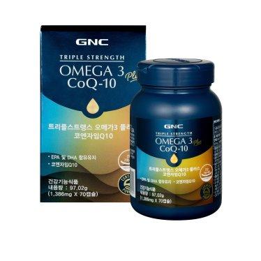 트리플스트랭스 오메가-3+코엔자임Q10 (70캡슐)