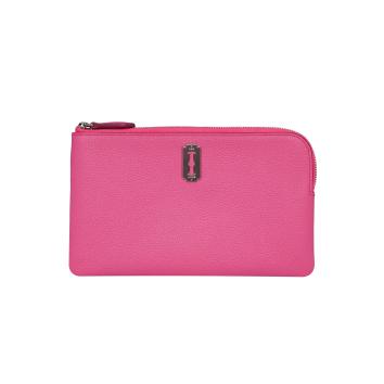 [vunque] Magpie Zipper Pouch (맥파이 지퍼 파우치) Pink lux_VQB01WL2011