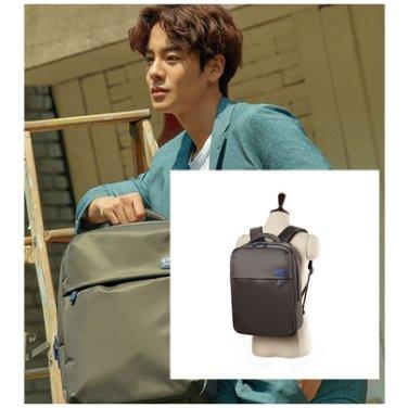 백팩 AZ016026 그레이 PLUME BASIC 남여공용 캐리어 거치 젠틀 가방
