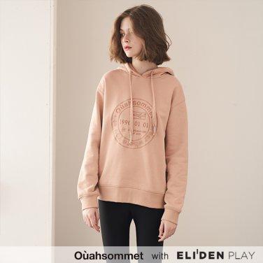 [우아솜메] Ouahsommet STAMP HOODIE [PINK] (OBBTS005A)