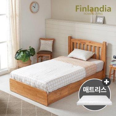 핀란디아 탠디 슈퍼싱글침대SS(서랍형)+플레이포켓매트리스