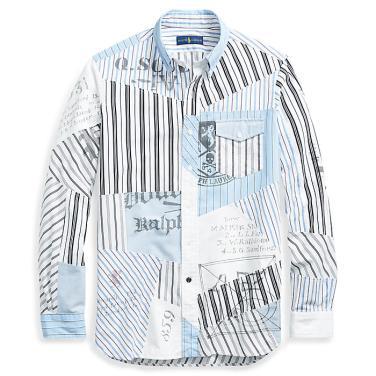 폴로 랄프 로렌 클래식 핏 패치워크 셔츠(MNPOWOV16810298E94)