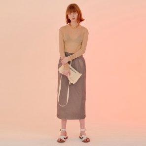 Riros Check Skirt_Pink+Brown Check (JC20SSSK11PC)