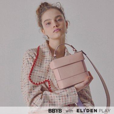 [비비와이비][호텔 델루나 미나 착용] BBYB Tindy Square Bag (Peach Blossom) (09I1210B6P)