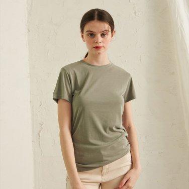 Le Round T-Shirt _ Khaki