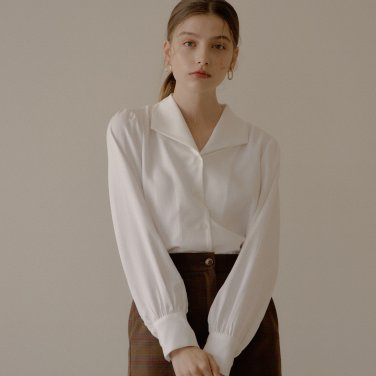 ONE COLLAR SHIRT_WHITE
