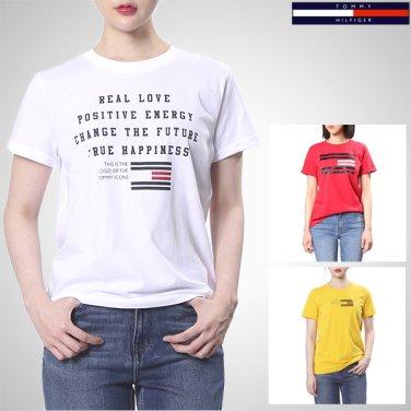 TFMT1KOE44A0(코튼 플래그 로고 반소매 티셔츠)