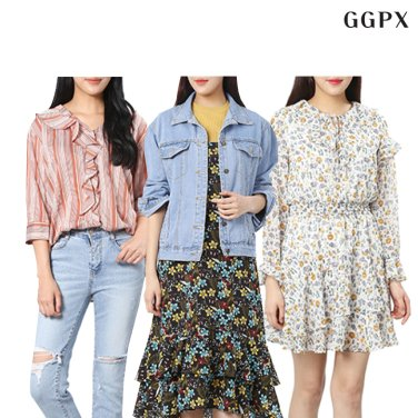 [GGPX] 취향저격! 러블리룩 간절기 아이템 추천♥자켓/원피스 外