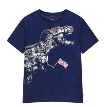슬럽 그래픽 반팔 티셔츠 5219226201056